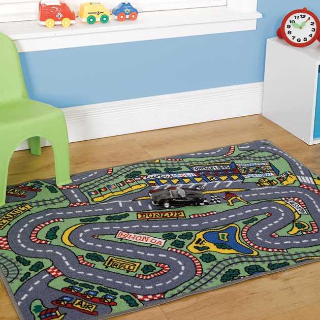 Matrix Formula One Washable Play Rug