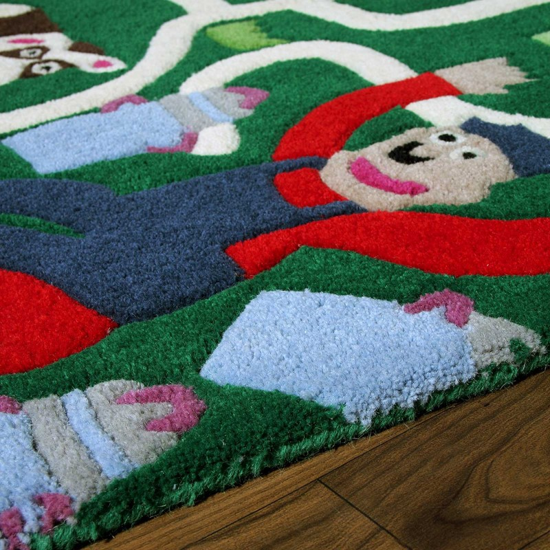 3a67129c45f Fun at the Farm Multi-coloured Rugs by Ana   Noush buy online from ...