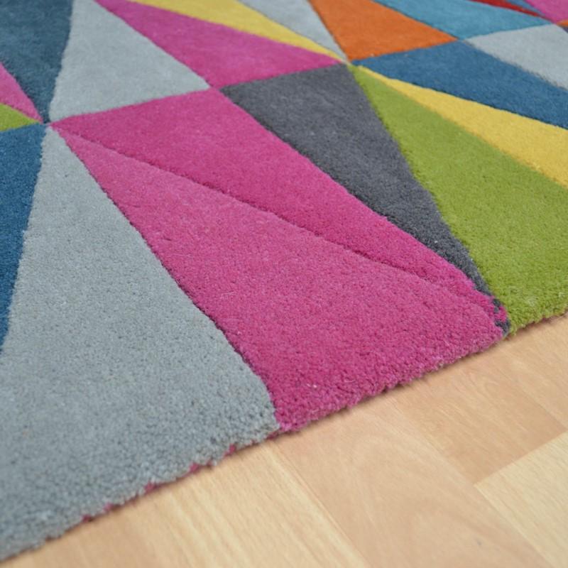 Funk Triangles Multi Coloured Hallway Runners Buy Online