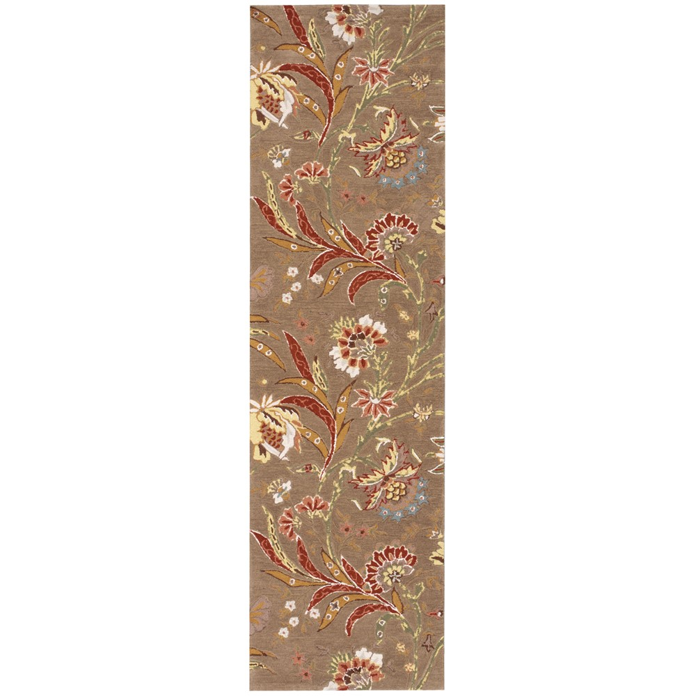 Gatsby Hallway Runners Gat01 Mocha Buy Online From The Rug