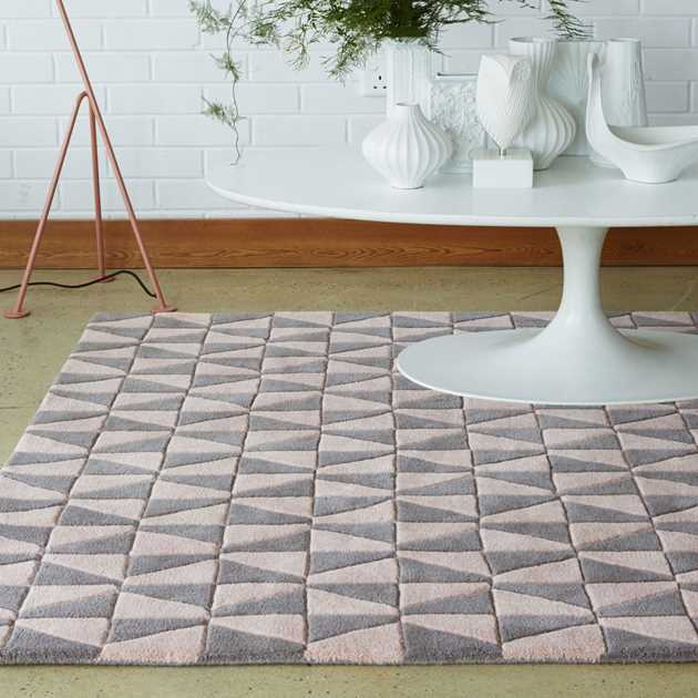 Plantation Geometric Rugs GEO05