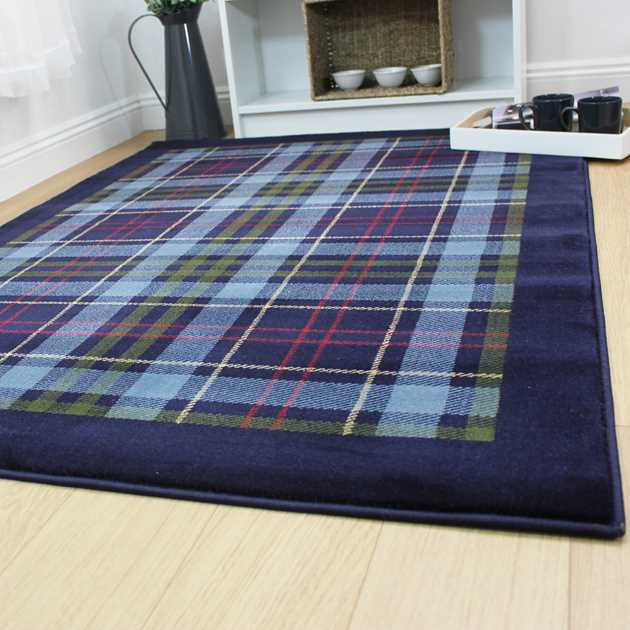 Galloway Rugs in Blue