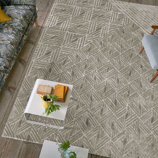 Ganton Natural Rugs by Designers Guild