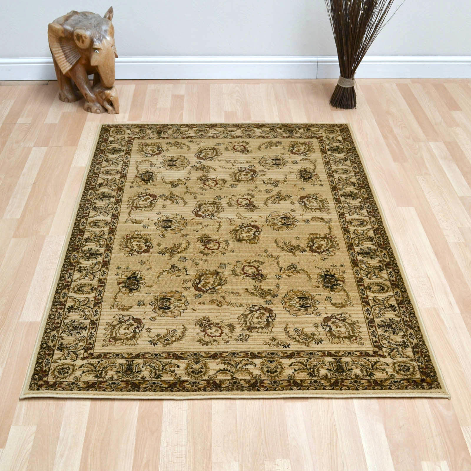 Garous Rugs in Gold