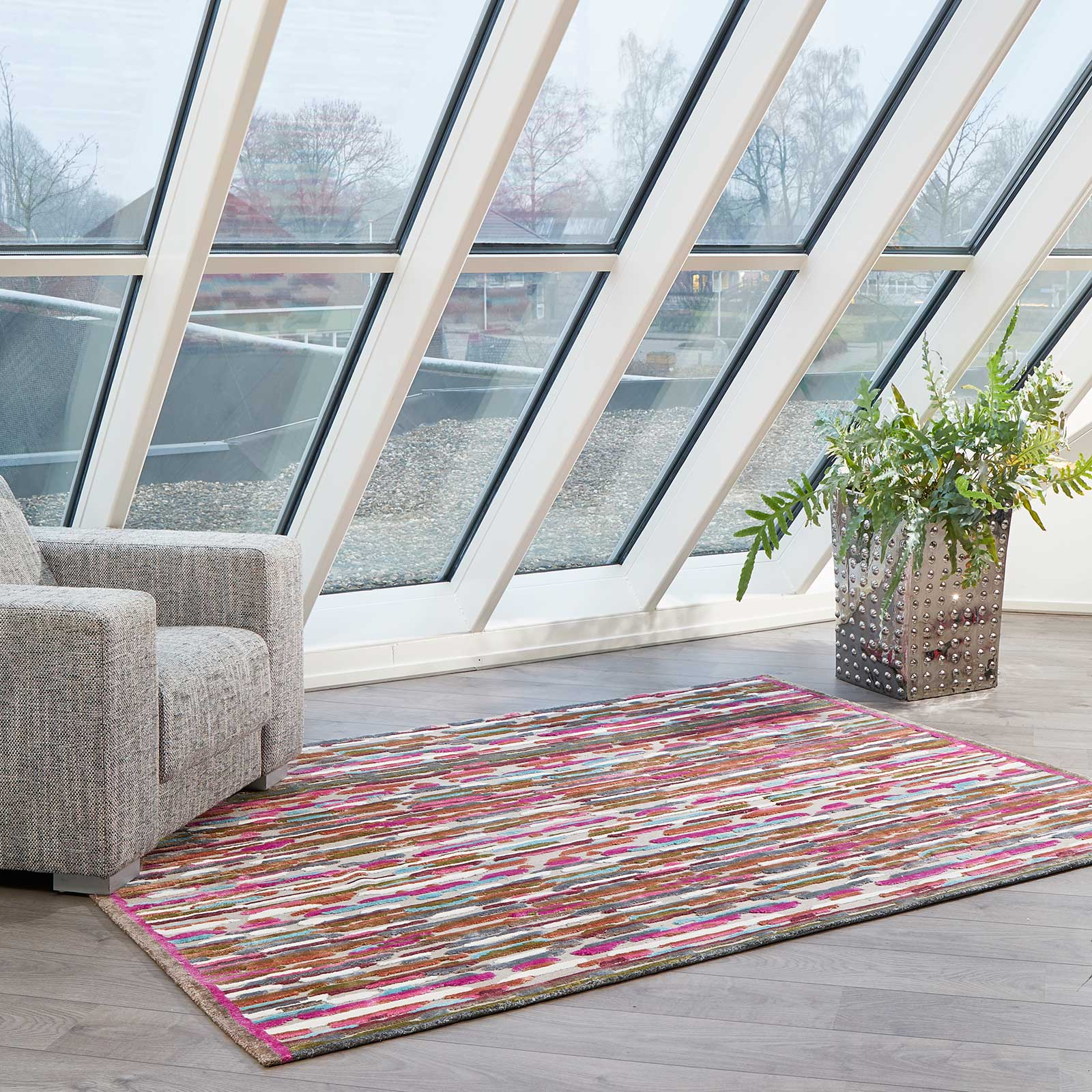 Gaudi Multi-coloured Rugs 3524