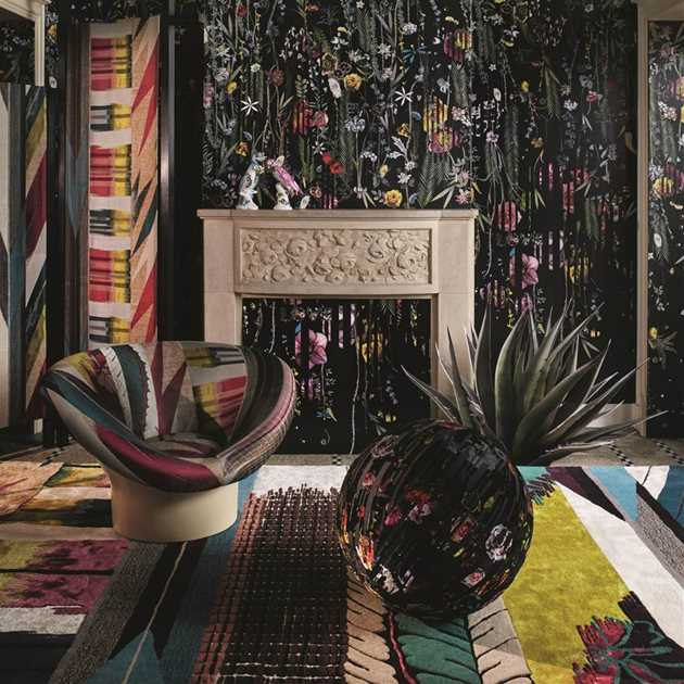 Geisha Prisme Rugs by Christian Lacroix