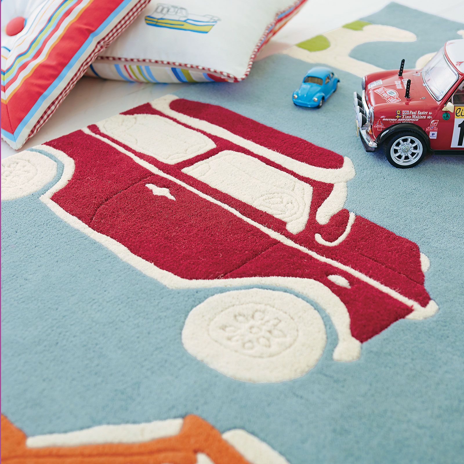 Go Go Retro Rugs 42608 by Harlequin Kids