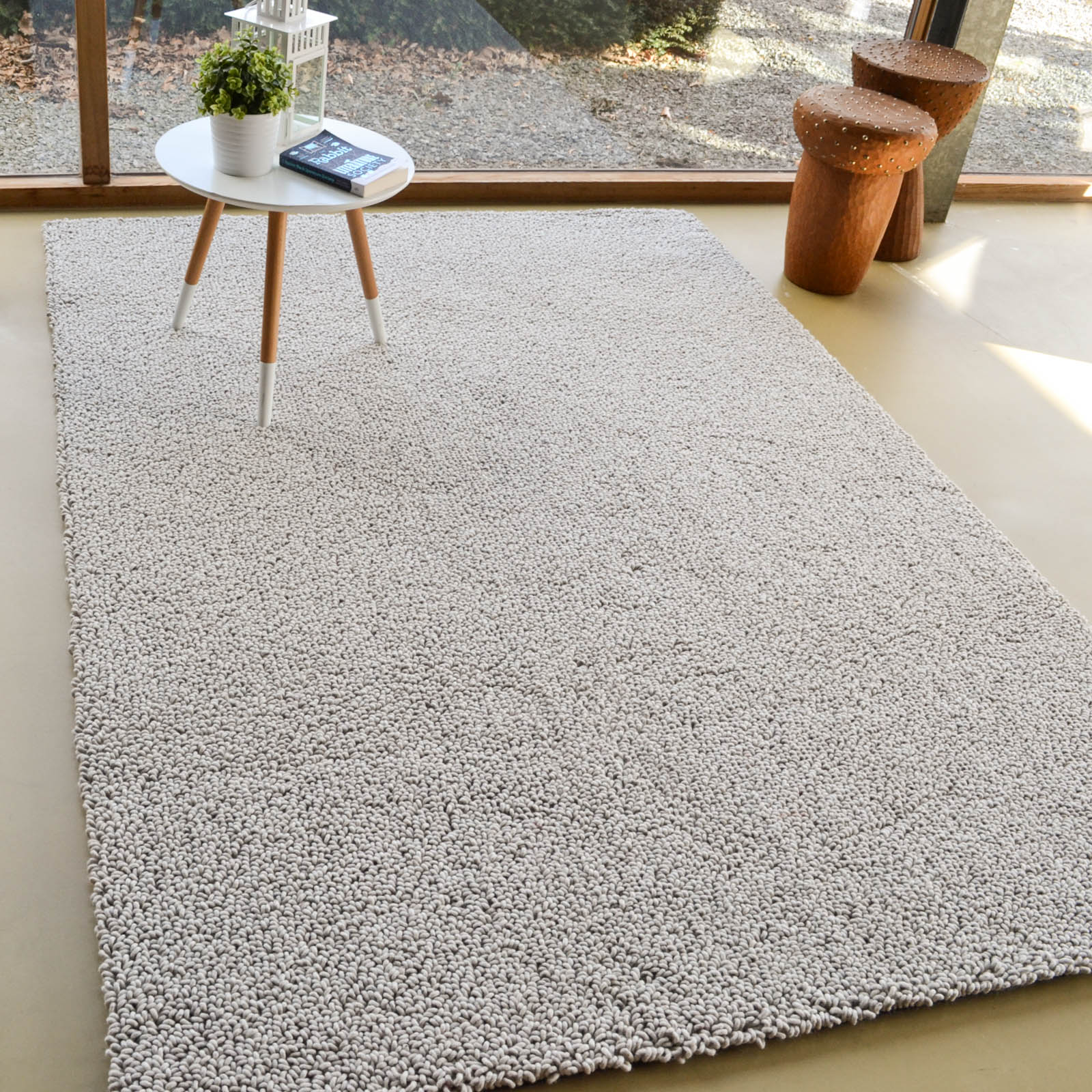 Gravel Boucle Rugs 68101 in Beige by Brink and Campman