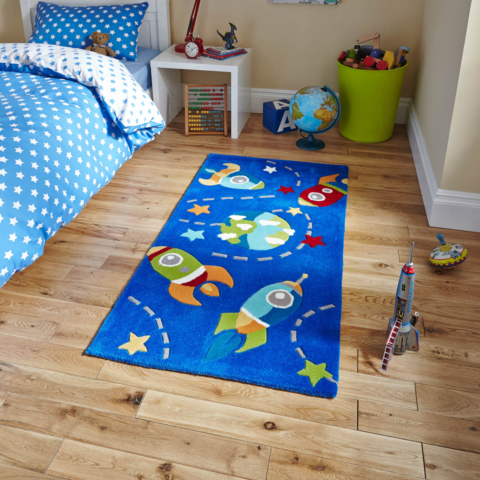 Hong Kong HK6149 Blue Space Rug