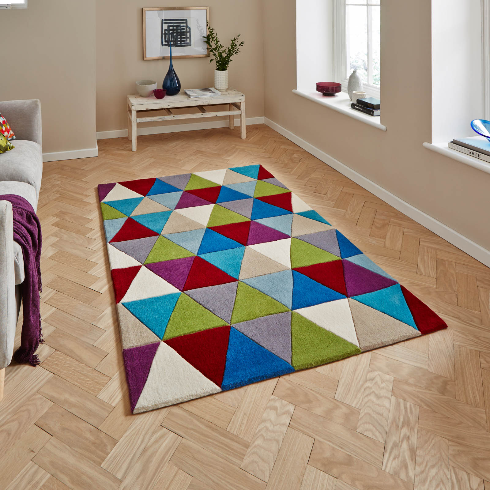 Hong Kong HK6809 Multicoloured Rugs