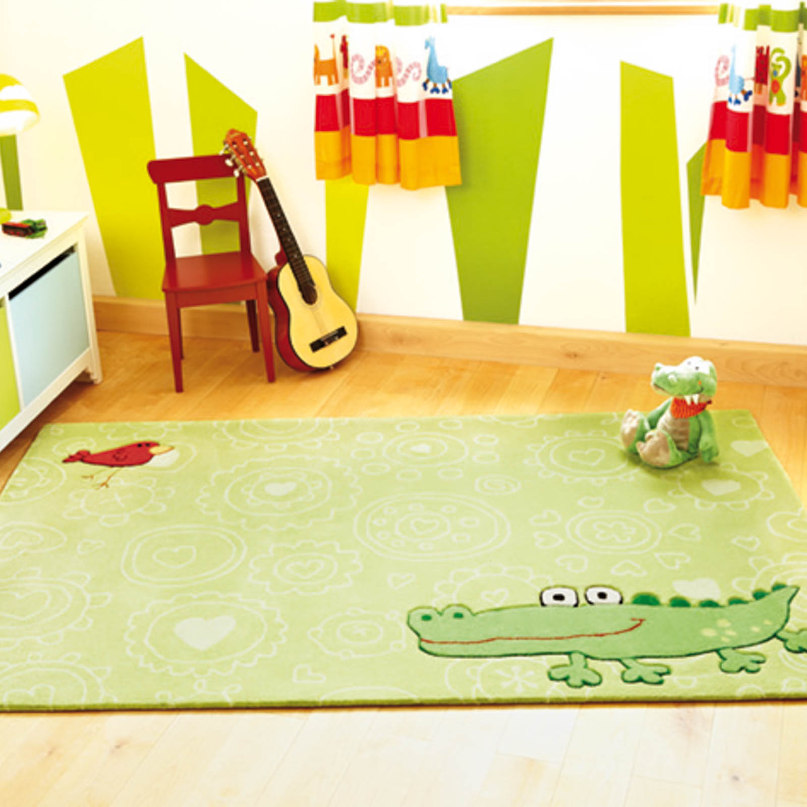 Happy Zoo Crocodile Rugs 3341 01