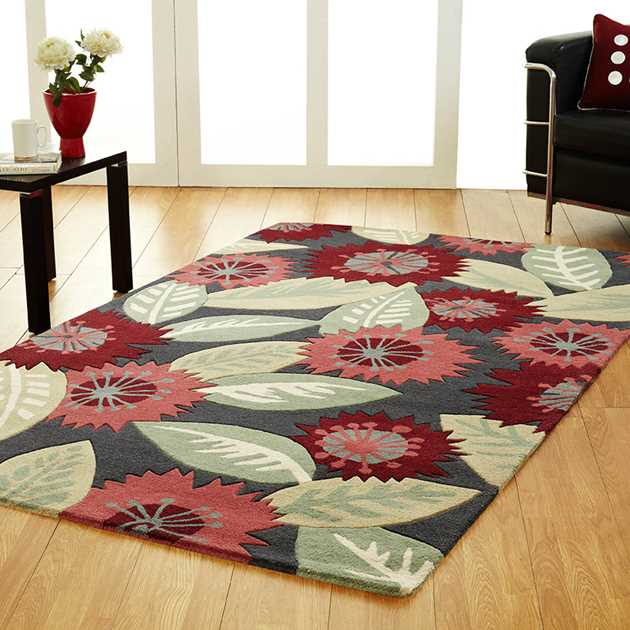 Unique Heaven Rugs in Multi