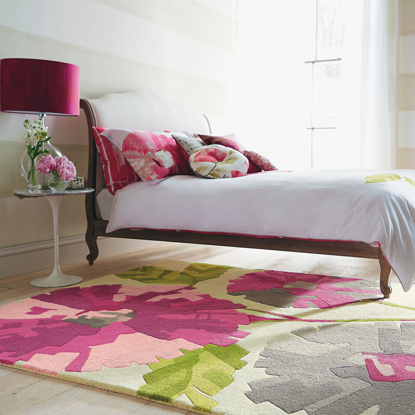 Harlequin Hermosa Rugs 43902 in Pink