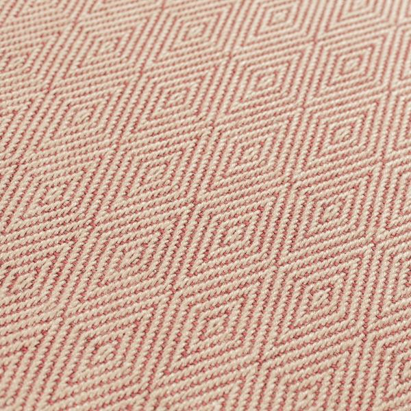 Herringbone Diamond Runners - Terracotta
