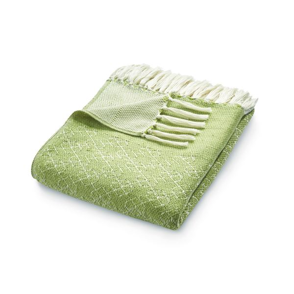 Trellis Throw - Green