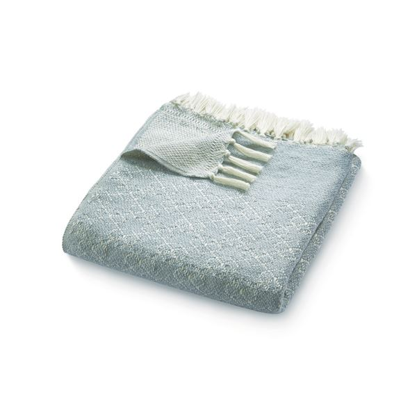 Trellis Throw - Grey