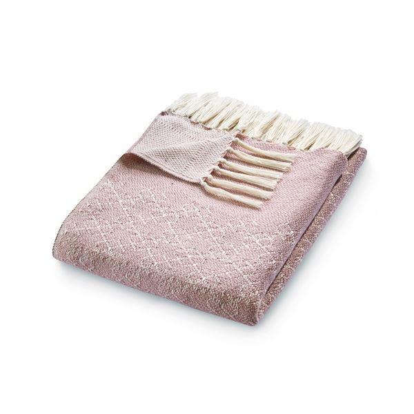 Trellis Throw - Pink