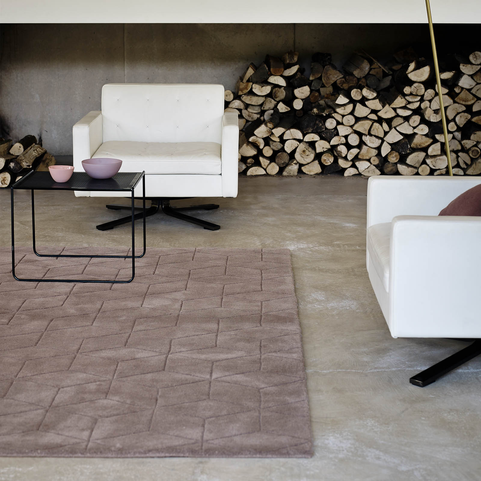 Illusory Rugs ILU02 in Brown