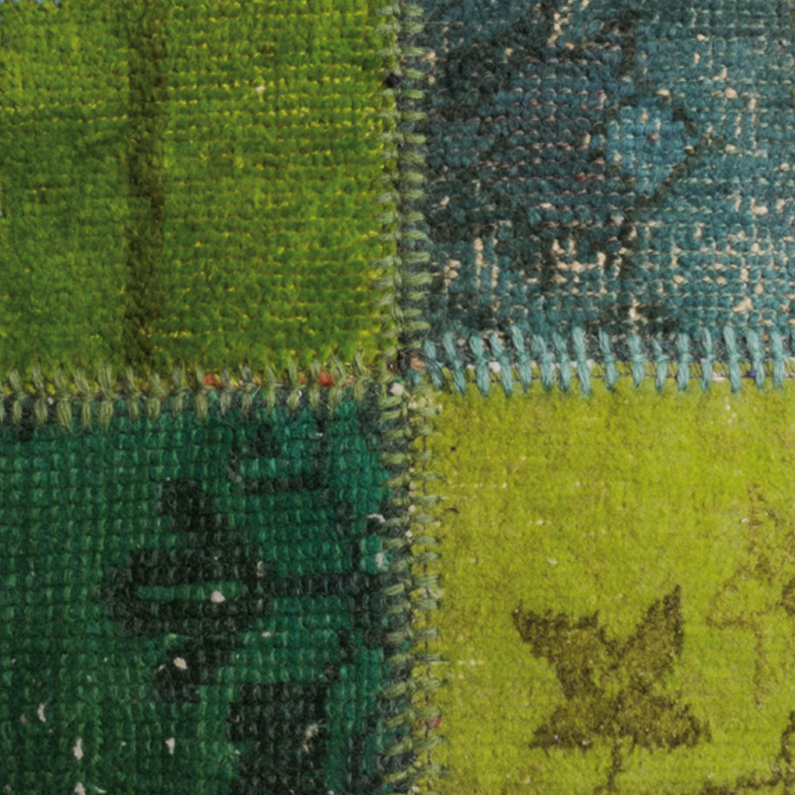 Vintage Rugs in Green