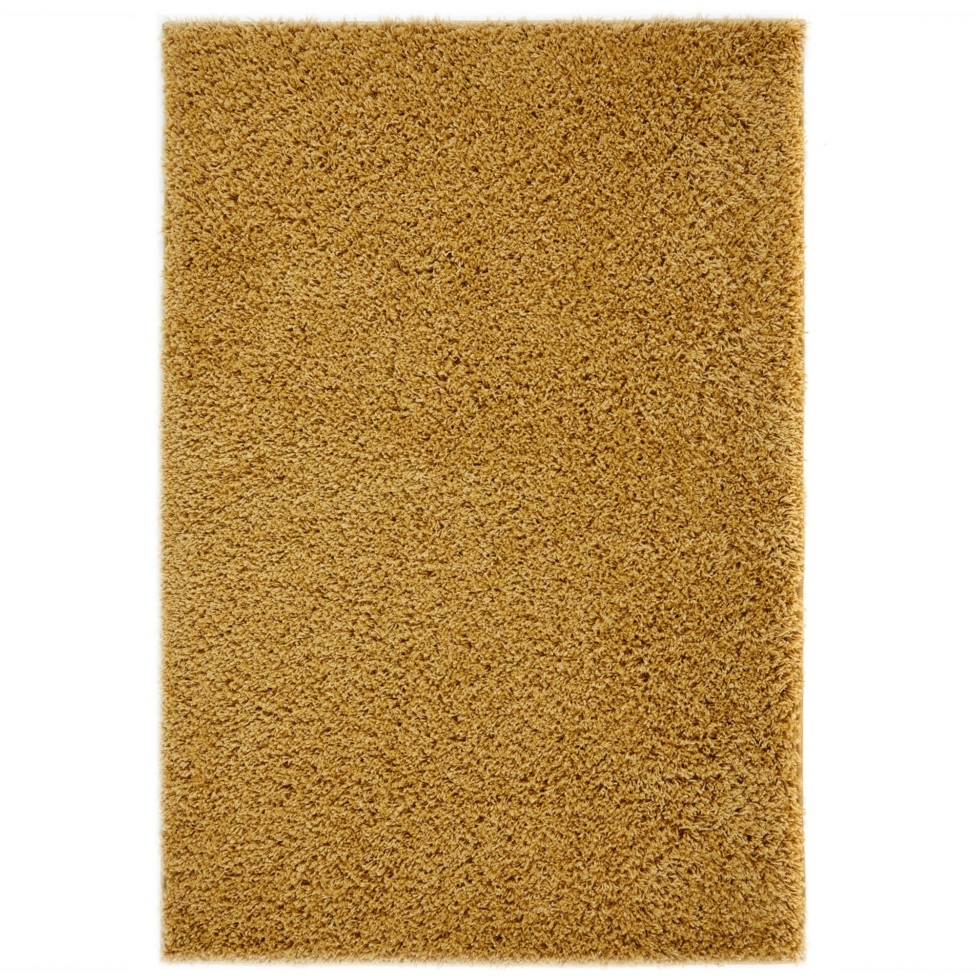 Home & Garden Isla Shaggy Rugs in Gold