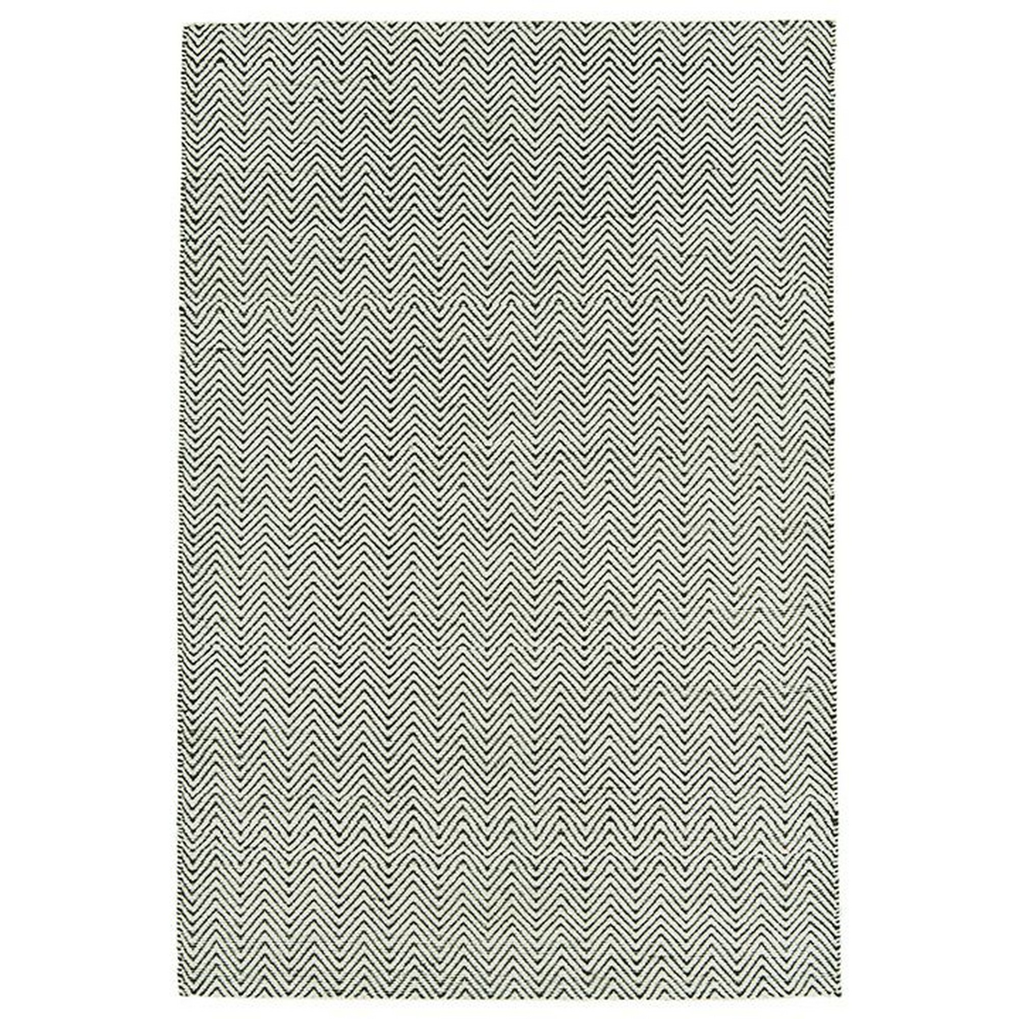 Ives Rugs in Black White
