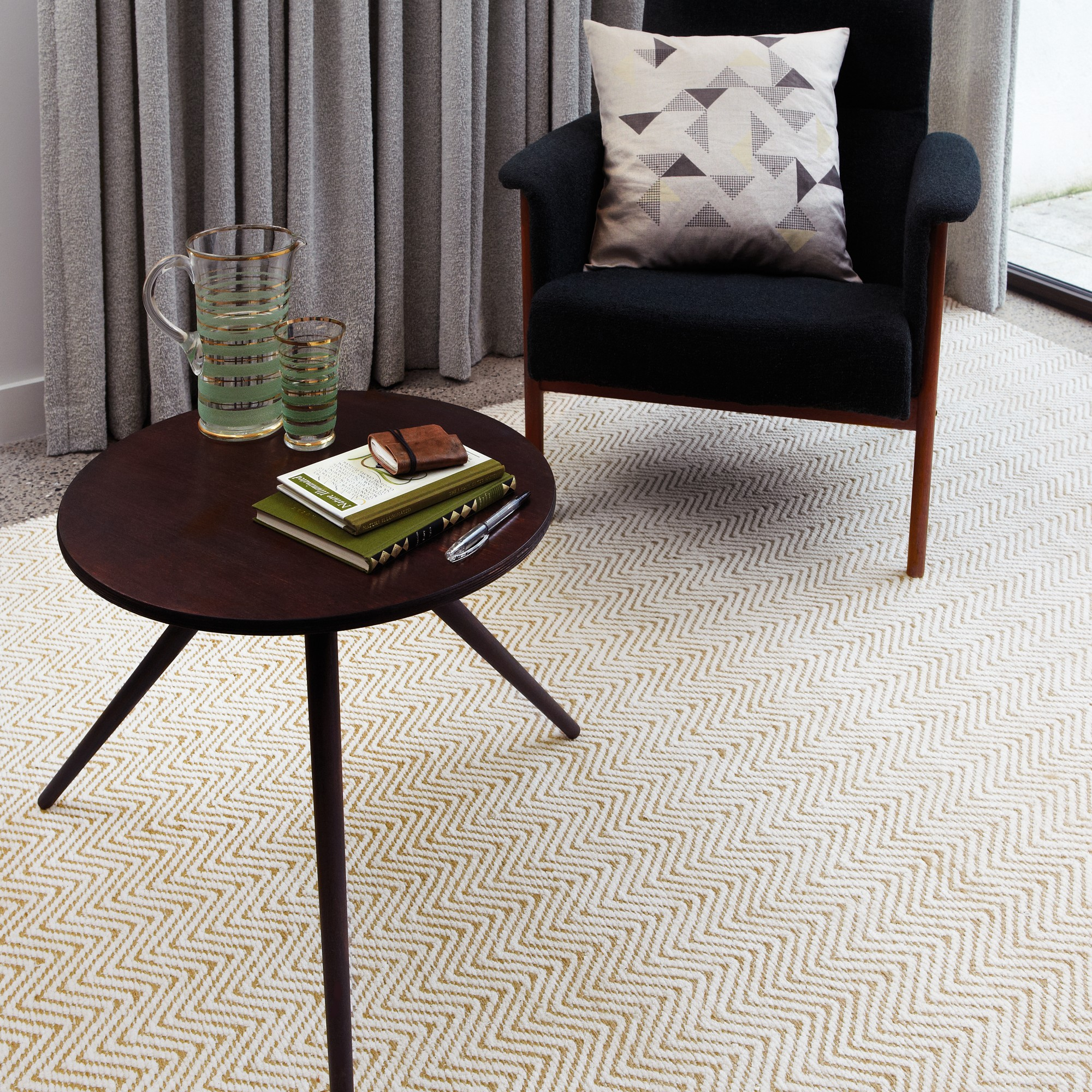 Ives Rugs in Natural