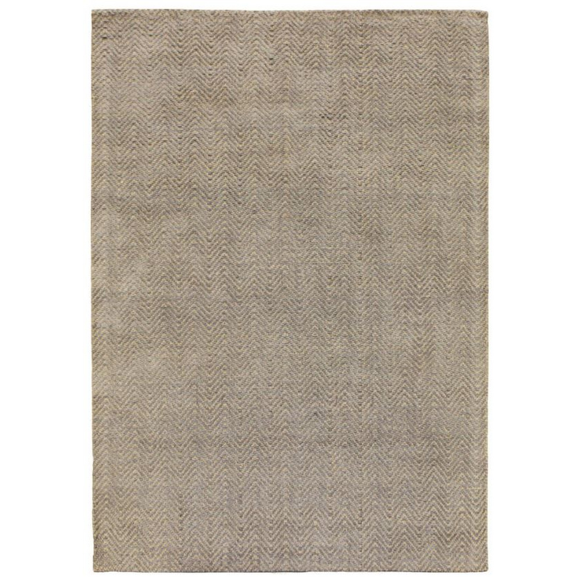 Ives Rugs in Silver