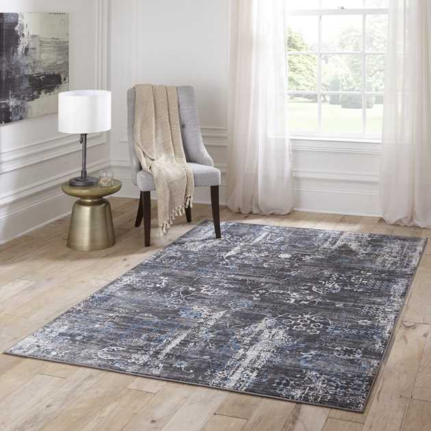 Juliet Rugs JU01 by Momeni in Charcoal