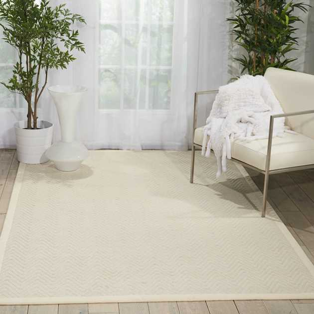 Kiawiah Rugs KIA01 in Ivory by Nourison