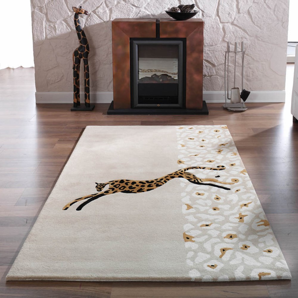 Kalahari Jaguar Rugs In Beige Buy Online From The Rug