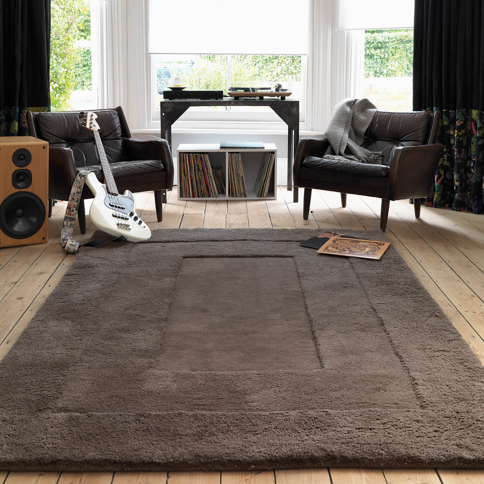 Karma Rugs in Grey Brown KA06