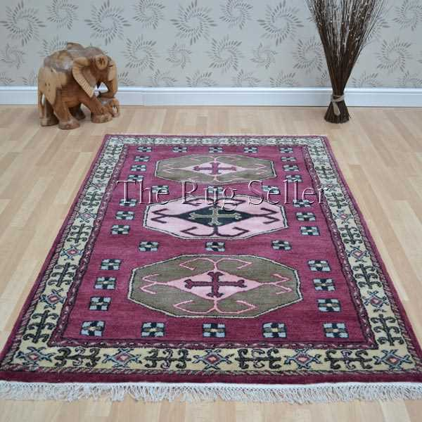 Kazak 1277 Red Traditional Rugs