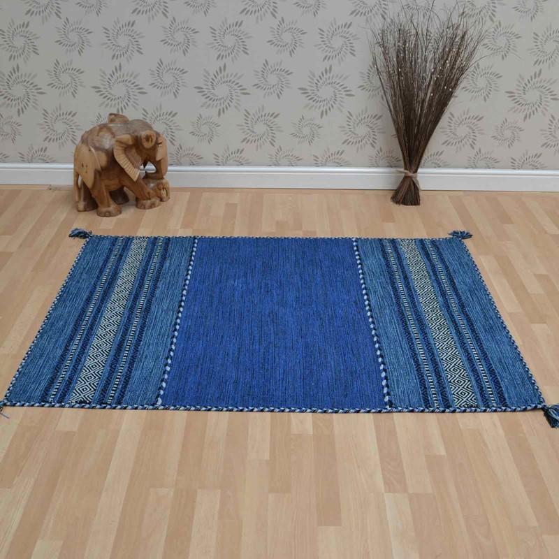 Kelim Rugs In Blue Buy Online From The Rug Seller Uk