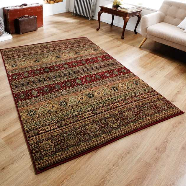 Kendra Rugs 135R Red