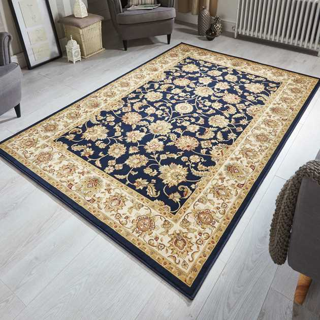 Kendra Rugs 3330B in Black
