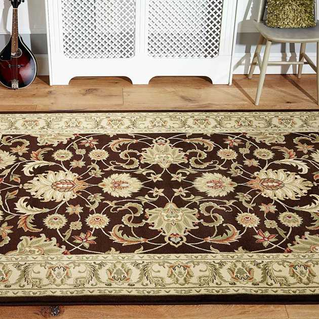 Kendra Rugs 45H Dark Brown