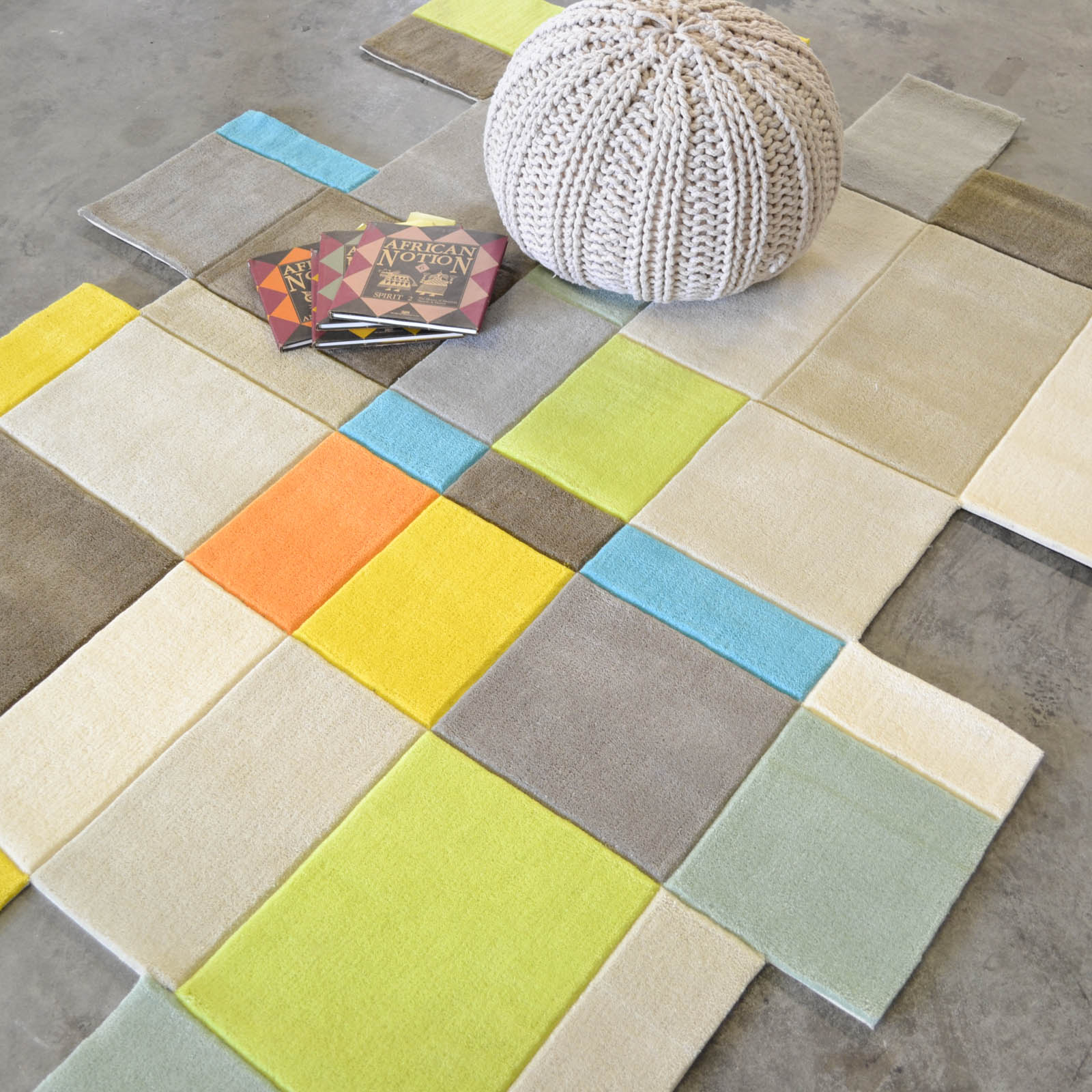 Xian Cube 41307 Kids Rugs by Brink and Campman