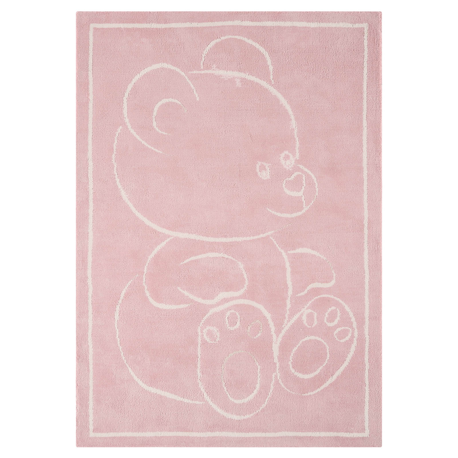 Teddy Rugs in Pink