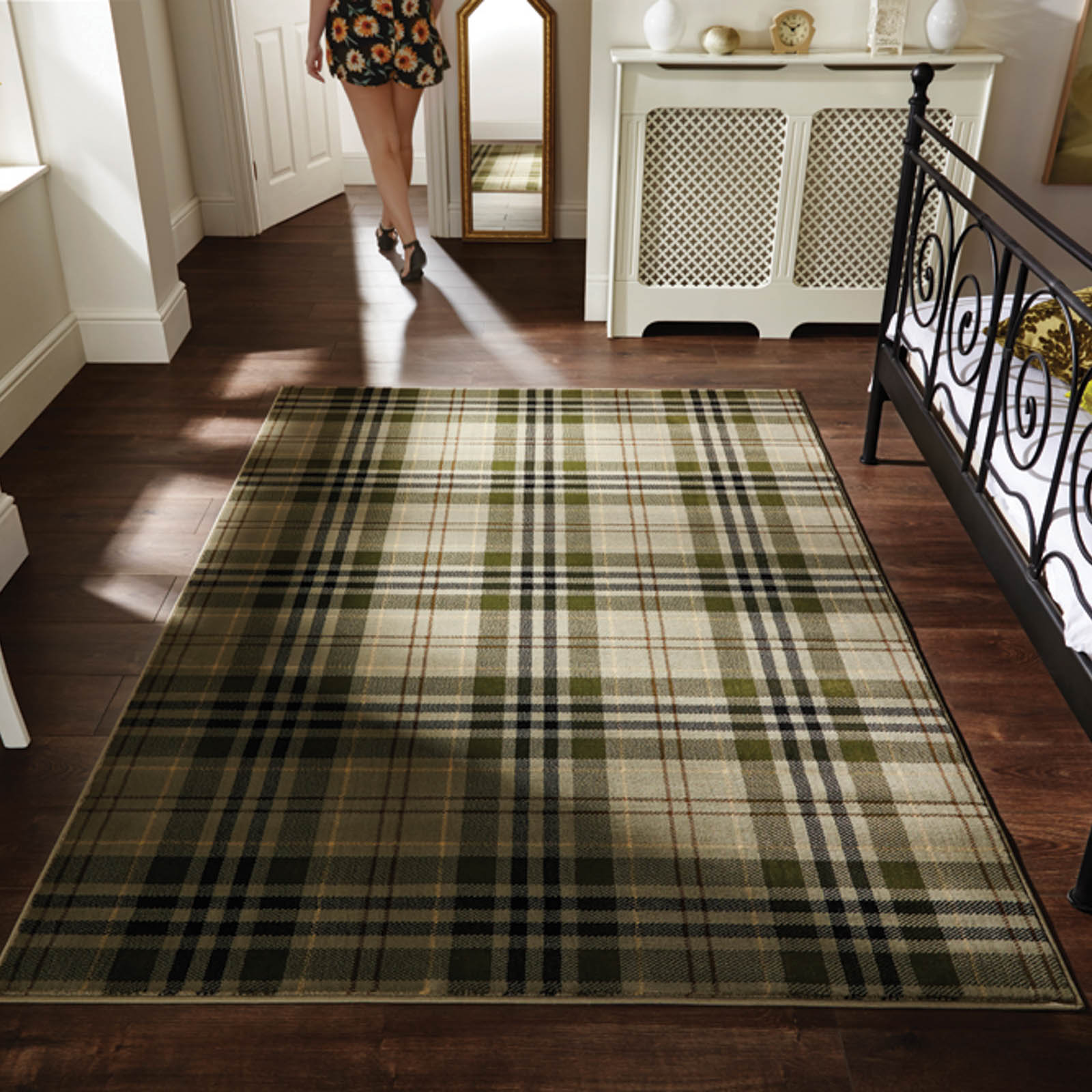 Glen Kilry Rugs in Sage