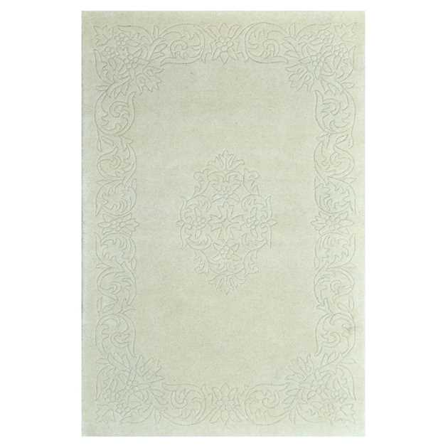 Kolam Rugs in Ivory