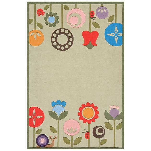 Modern Garden Rugs lmj7 by Momeni in Grass