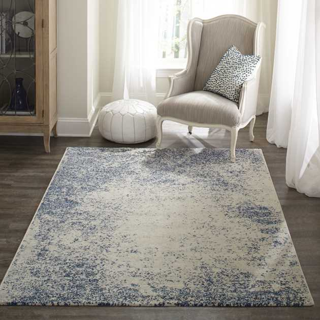 Loft Rugs LO02 by Momeni in Blue