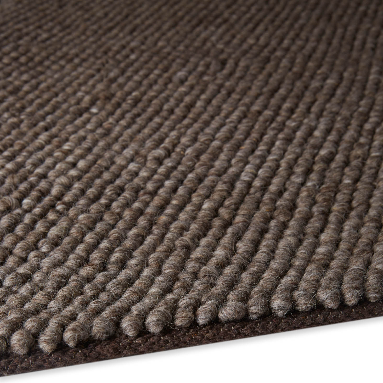 Loopy Rugs LOP02 in Light Brown