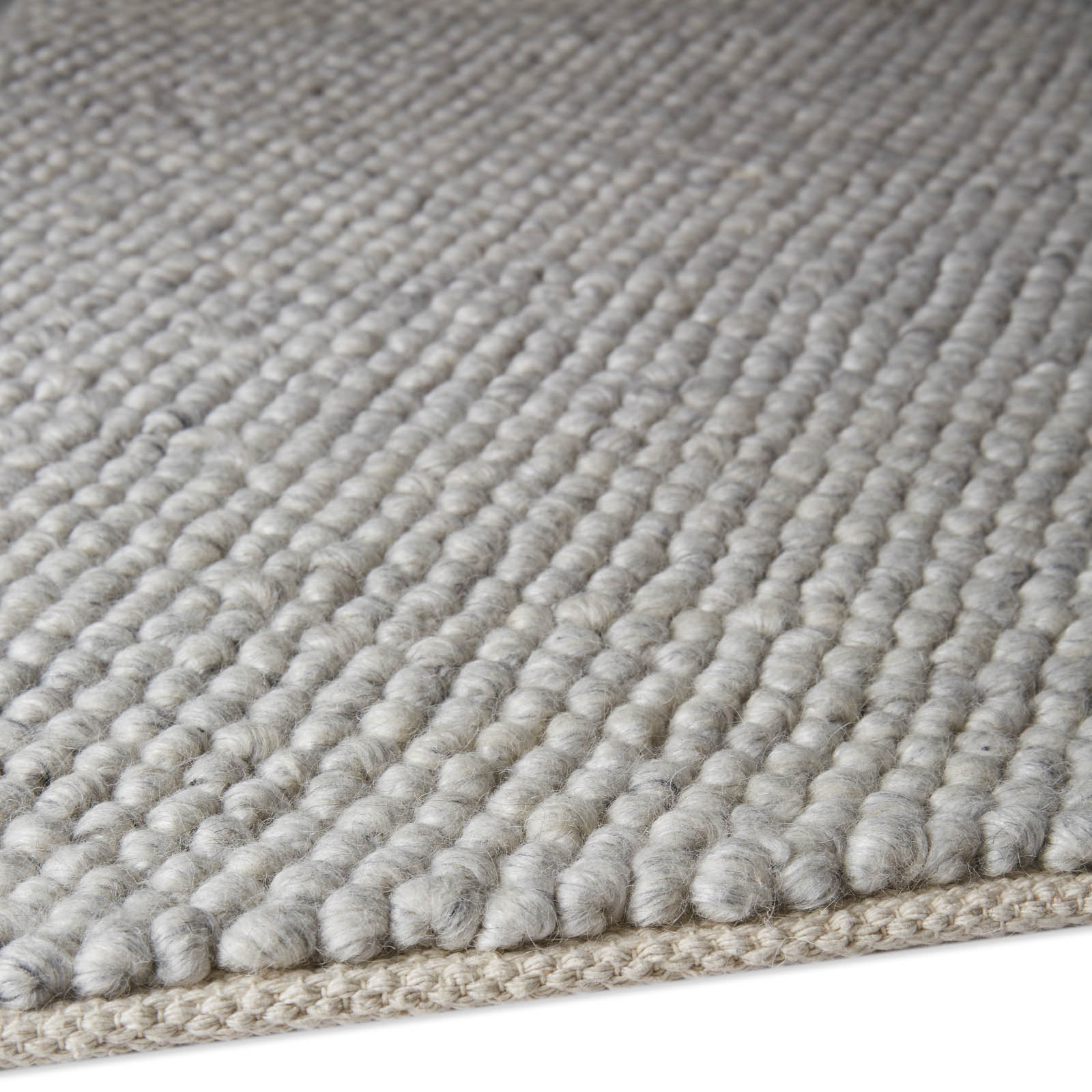 Loopy Rugs LOP06 in Silver
