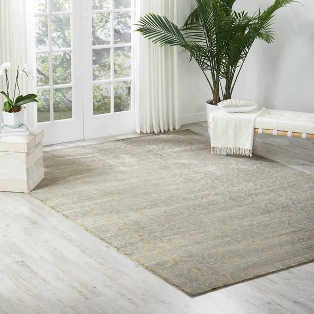 Nourison Luminance Rugs LUM05 in Cobalt