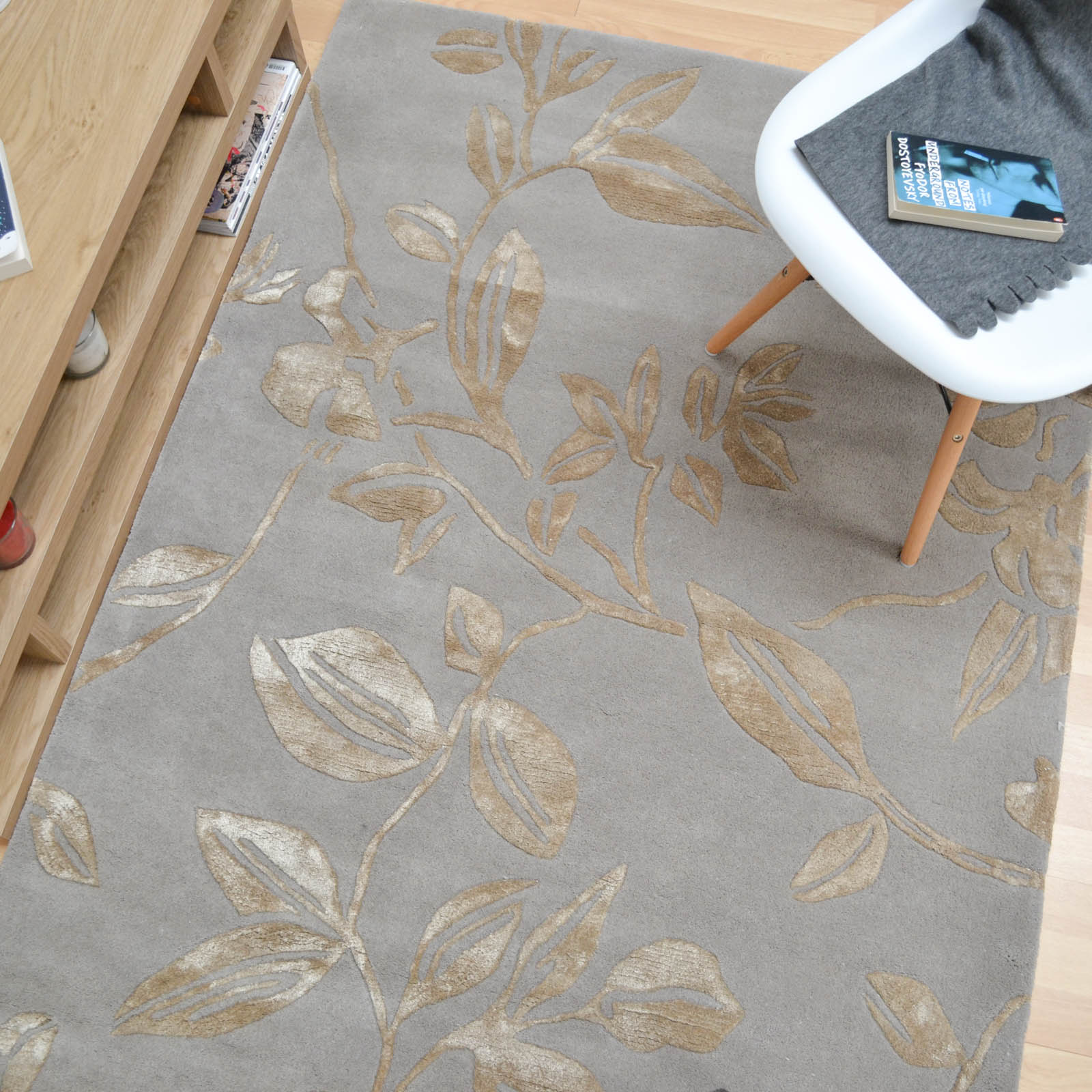 World Map Rug Costco: Leaf Trail Rugs In Green Buy Online From The Rug Seller Uk