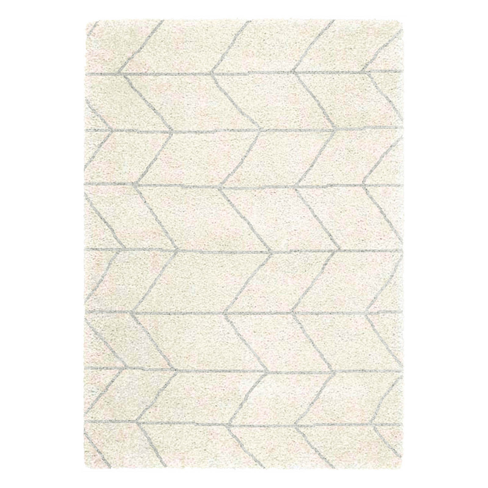 Logan Rugs LG02 in Cream and Grey