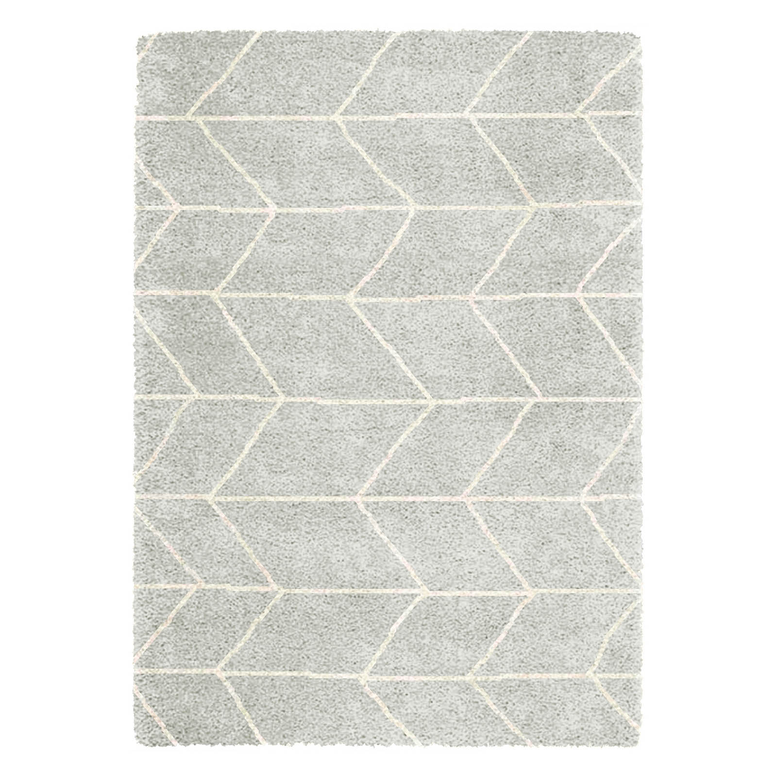 Logan Rugs LG03 in Grey and Ivory