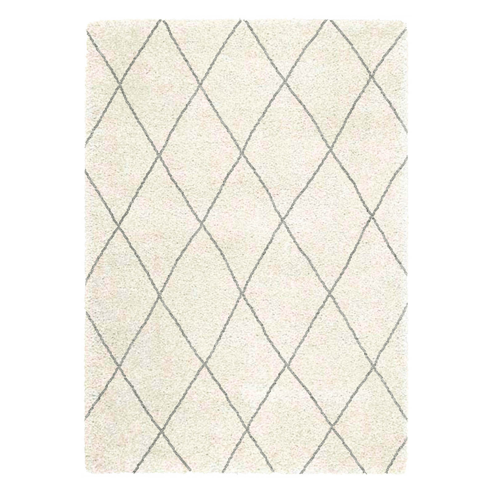 Logan Rugs LG07 in Cream and Grey
