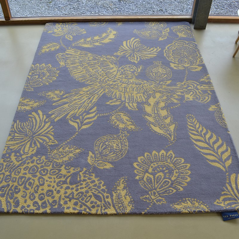 Loran Rugs 56306 By Ted Baker In Yellow Buy Online From